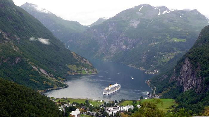 croisiere fjords en Norvège