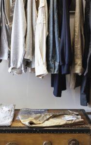 Ranger sesvêtements avant l'automne