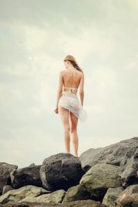 Bikini et paréo