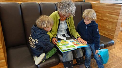 La lecture en famille