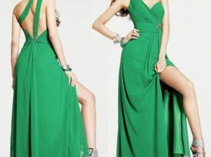 La robe fendue : très prisée des stars