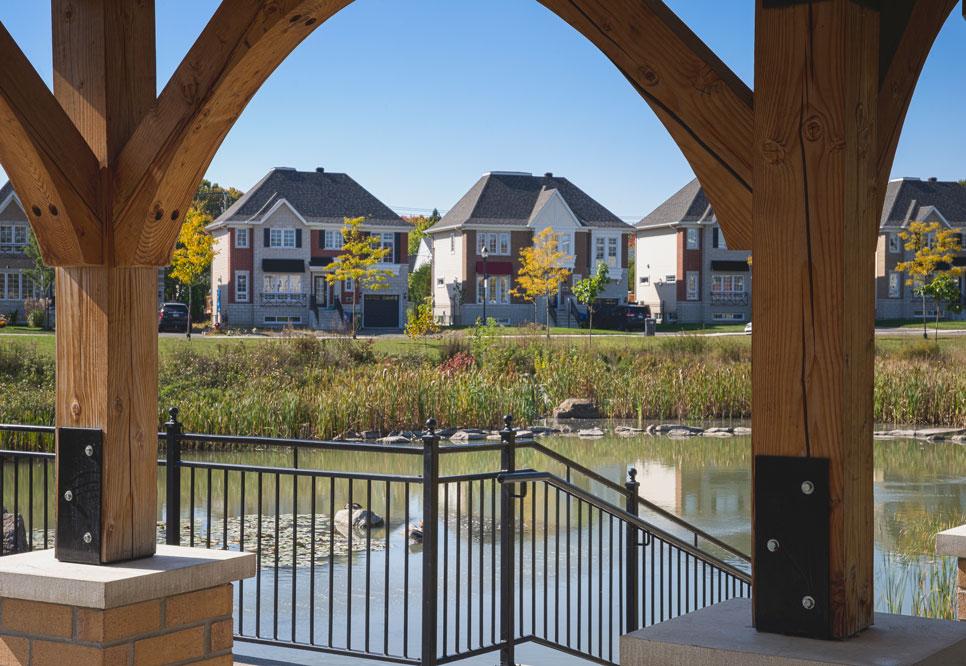 Immobilier 2 projets domiciliaires novateurs postinfo for Maison neuve projet