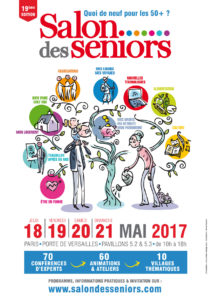 affiche salon seniors 2017