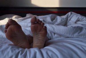 Personne dans son lit