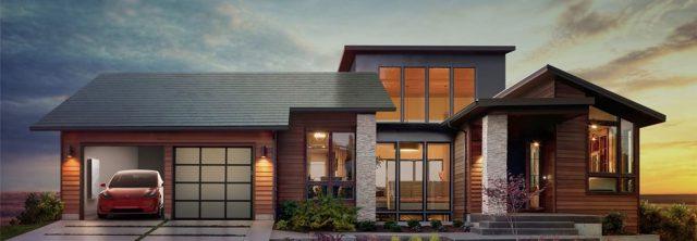 Tuiles solaires Tesla