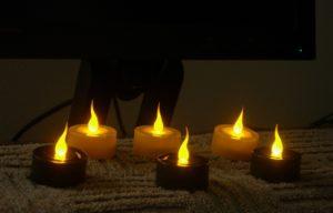 bougies led économiques