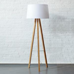 lampadaire design bois matérau tendance 2018