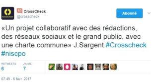 Crosscheck : un projet collaboratif pour une information vérifiée