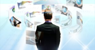 Homme - internet - digital