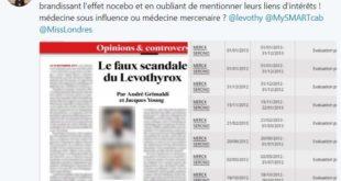 Scandale du Lévothyrox®